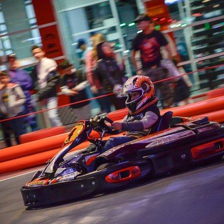 La pista de karts más moderna de Colombia