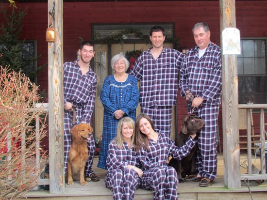 Remsen, NY: At home Christmas morning.