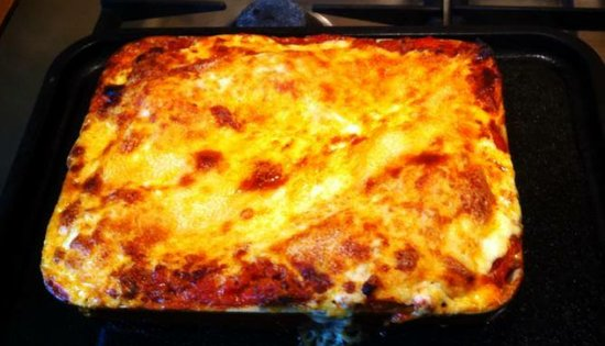 Greater London, UK: Homemade Lasagne - Just what you need on a Sunday, joke everyday. Lol