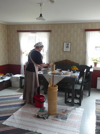 Åland, Finland: cooking the old way