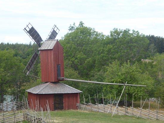Aland, Finland: a windmill