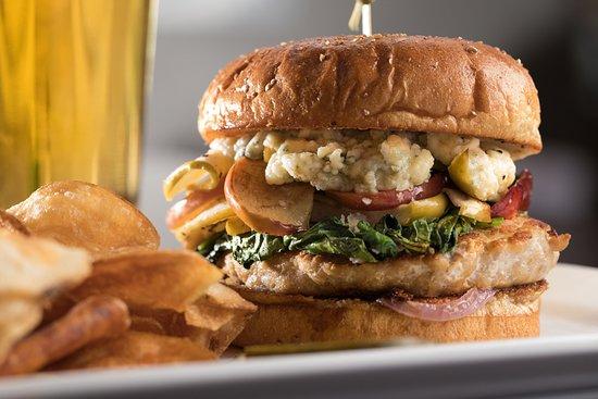 The J Bar: Turkey Burger