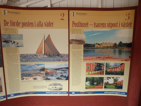 Aland Island, Finland: from the small Postal Museum