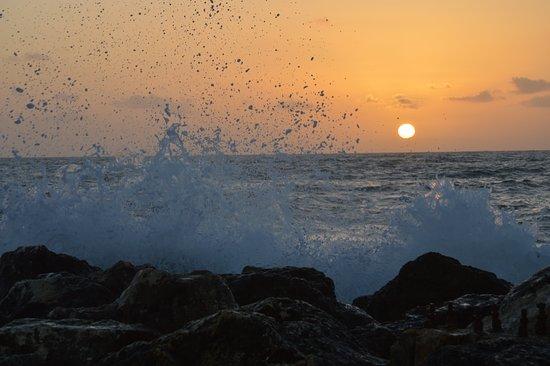 Шавей-Цион, Израиль: הים בחורף