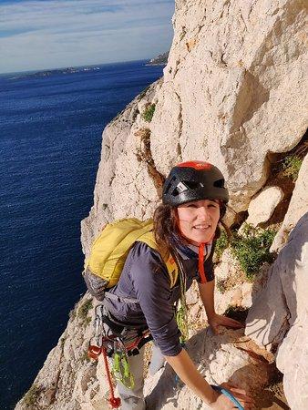 Марсель, Франция: Grande voie à Rumpe Cuou, Calanques, Sormiou, Marseille