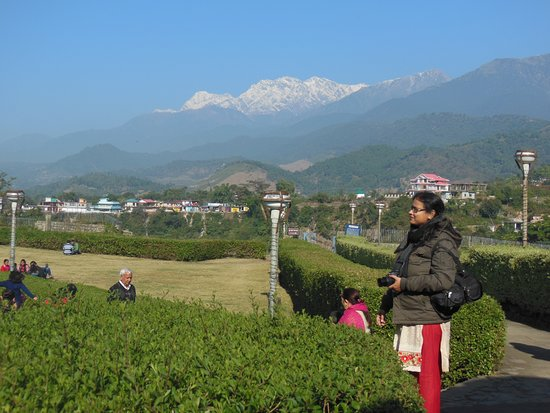 Baijnath, India: See Dhauladhar Range from Temple ground