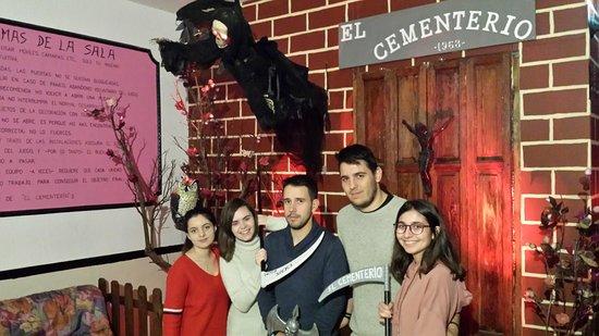 Escape Room ADRENALINA El Cementerio