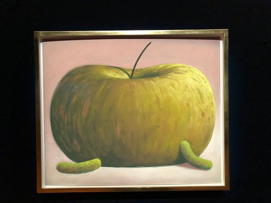 Musee Magritte Museum - Royal Museums of Fine Arts of Belgium: paint