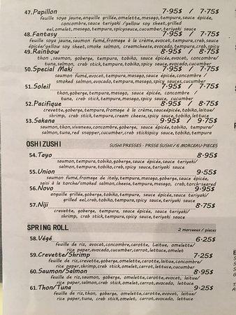 Sushi Inbox Menu 3