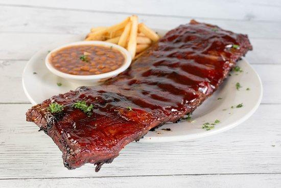 The Machine Shed Restaurant: Hickory Smoked Pork Ribs