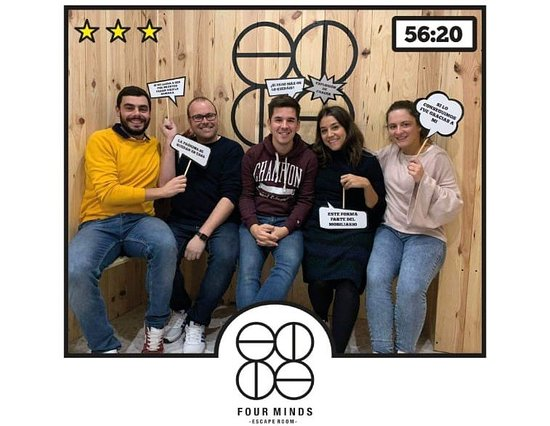 Four Minds Escape Room