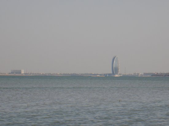 Aldar's Headquarters iconic building of Abu Dhabi