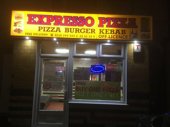 Pizza Expresso Leicester Menu Prices Restaurant
