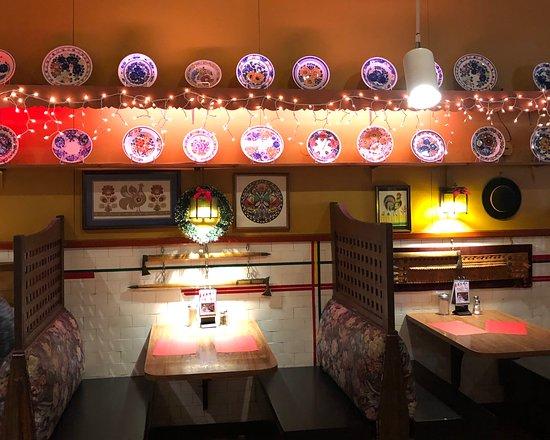 Polonia Polish Restaurant: The atmosphere of the restaurant