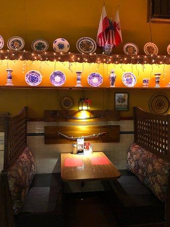 Polonia Polish Restaurant: Our booth