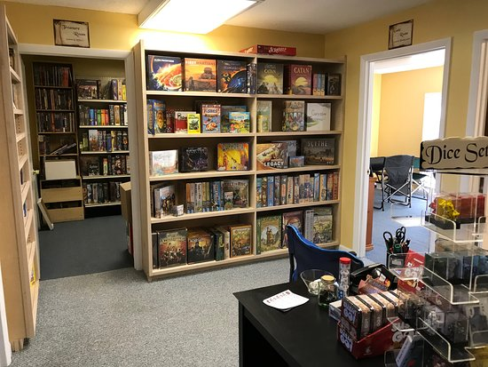 Here Be Books & Games