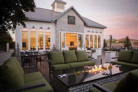 2 beautiful firepit areas
