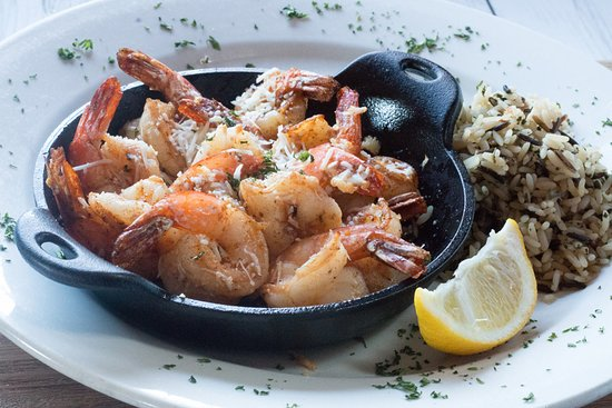 The Machine Shed Restaurant: Sautéed Savory Shrimp