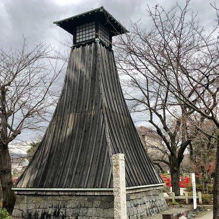Musubinoike and Sumiyoshi Lighthouse At Okuno Hosomichi