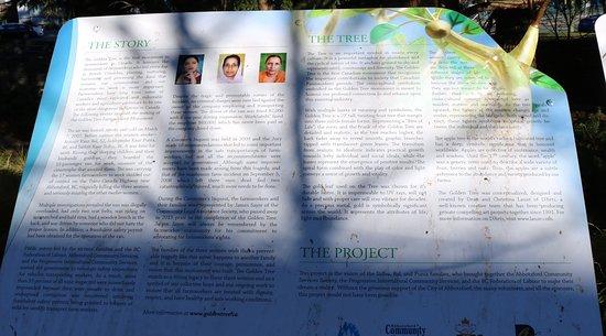 International Friendship Garden: Descriptor of accident