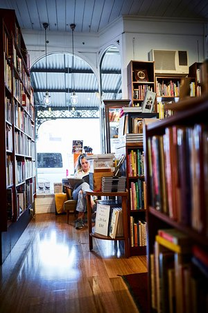 The Wine Book section at Books for Cooks 115-121 Victoria St October 2018 ©Adrian Lander & Books for Cooks