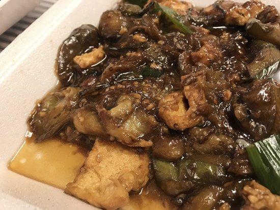 Eggplant and tofu