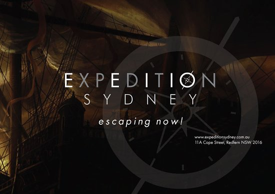Expedition Sydney - Escape Rooms