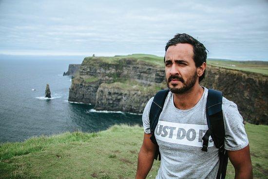 Ирландия: En cliff of moher, Irlanda!