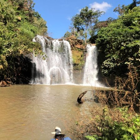 Kachang Waterfall: A cool haven on a hot day.