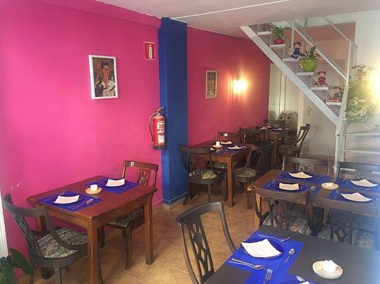 Frida Kahlo Cocina Mexicana & Margaritas: El comedor