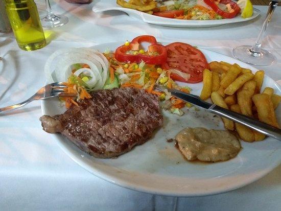 Pimm's Restaurant: great steak