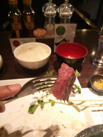 Steak House Pound Kyoto Honten: Boeuf de Kobe