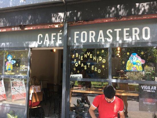 Cafe Forastero - Picture of Cafe Forastero, Santiago