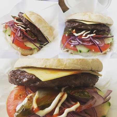 Marios West Country fresh produce cooked on site daily and some home made tasty bites also!