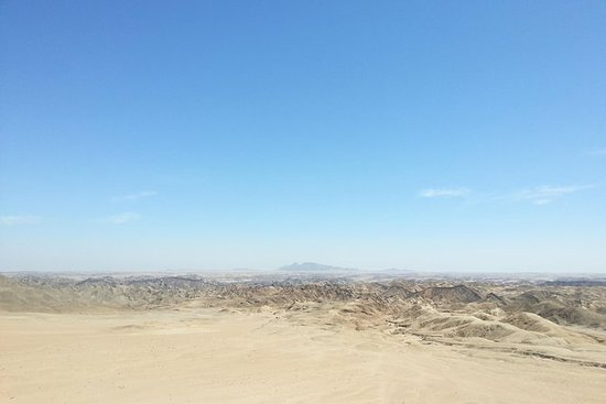 Moon Landscape and Welwitschia Day...
