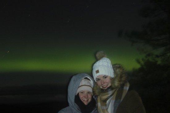 Caza aurora boreal