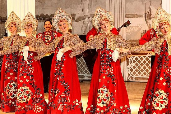 St Petersburg Folklore Show in...