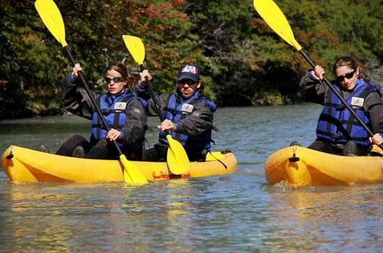 Kayak in Licura river