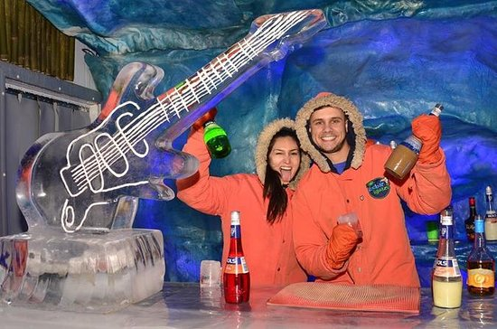 Erleben Sie in der Ice Bar