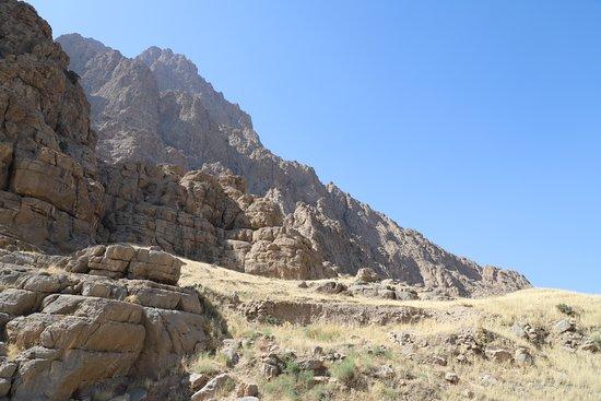 Province of Kermanshah, Iran: Bisotun - Blick nach Nord-Osten