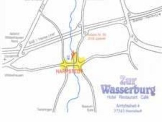 Harpstedt, Germany: Map