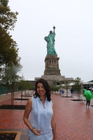 Статуя Свободы: Vista desde atrás