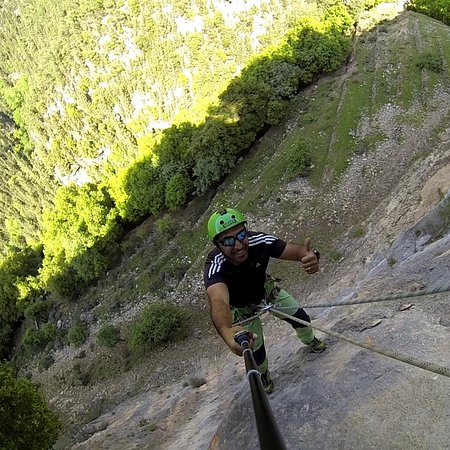 North Governorate, Lebanon: Abseiling and rock climbing