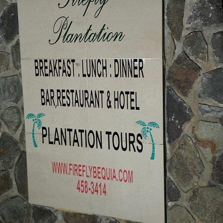 Spring Bay, Bequia: Firefly Bequia Plantation Hotel