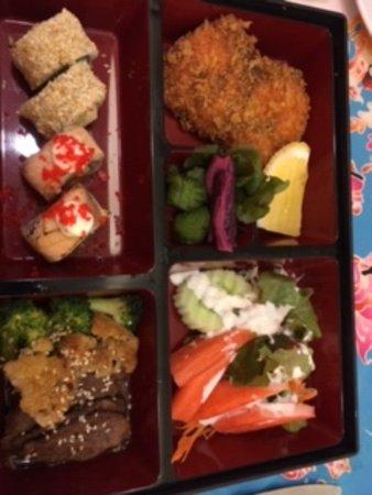 Aonang Buffet: Japanese dish.
