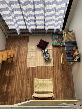 Duplex room called Grandchild.