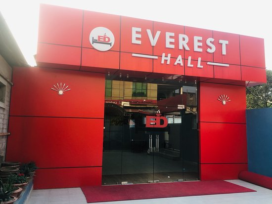Butwal, Nepál: This is our event hall .