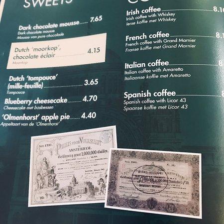 Amsterdam, Hollanda: Délicieux déjeuner à l'aéroport au Grand Café