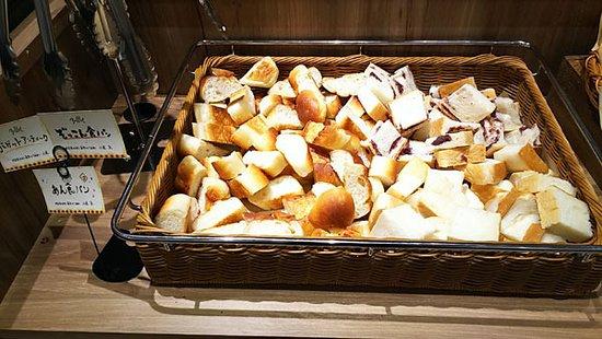 食べ放題のパン、あん食パンなど
