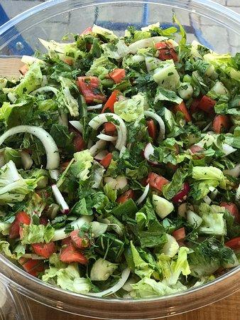 "Clarksville, Мэриленд: ""Salats baladi"" fresh delicious salad everyday!"